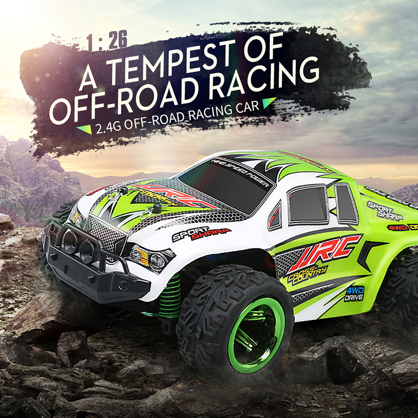JJRC Q35 RC Car 2.4G 3.5CH Rock Crawlers 1:26 Driving Car Drive High Speed SUV Cars Remote Control Model Toy RTF