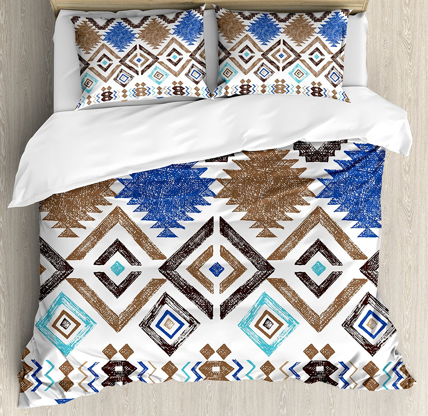 Detail Feedback Questions About Aztec Duvet Cover Sete Abstract - Geometrical-shapes-on-bedding