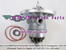 Turbo cartridge CHRA K14 7018 53149887018 53149707018 074145701A Turbocharger For VW T4 Transporter ACV AUF AYC AJT AYN 2.5L TDI