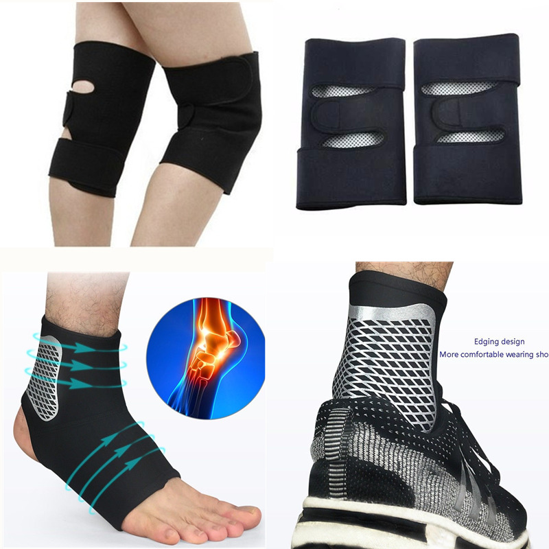 Men Women Knee Sleeve Men's Ankle Support Brace High Elastic Ankle Socks Sports Fitness Basketball Baseball Ankle Protective