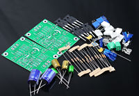 One Pair PASS 5W Single Ended Class A FET MOS Power Amplifier Kit DIY AMP