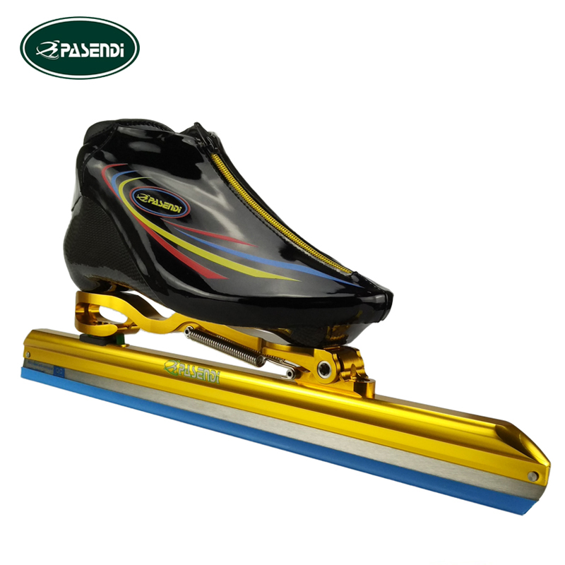 PASENDI Patines Profesionales Adults Speed Skates Shoes <font><b>Roller</b></font> Skate Women/Men/Kids inline Skating Boots ICE Blade Shoes