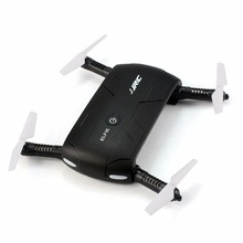 JJRC H37 ELFIE Wifi Control Foldable FPV Altitude Hold Mini Quadcopter Headless Mode HD cam Sefie RTF Drone RC Toy Gift F19832