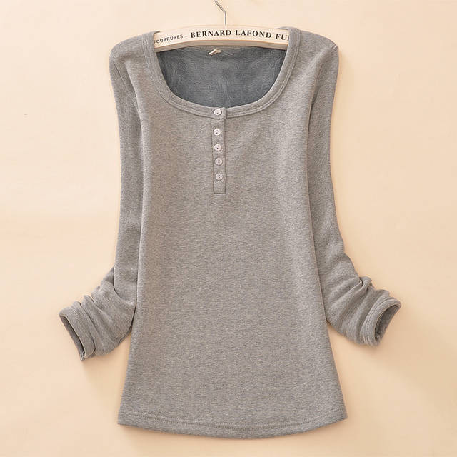 2015 moda outono Inverno de veludo romper mulheres Tops Blusas Femininas da térmica  Inverno em Camisetas de Roupas das mulheres no AliExpress.com  c98e0dfc8822b
