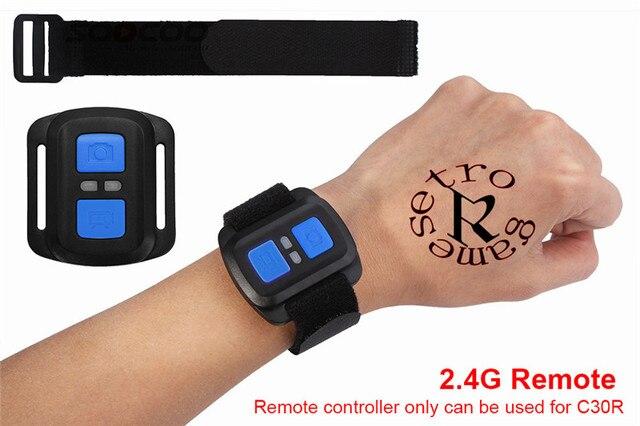 2.4G câmera de ação câmera esporte controle Remoto Para SOOCOO C30R