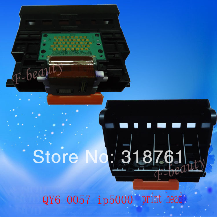 High quality original Print Head QY6-0057 Printhead Compatible For Canon IP5000 IP5000R Printer head print head qy6 0062 original refurbished for canon mp960 mp950 ip7500 ip7600 printer only guarantee the print quality of black