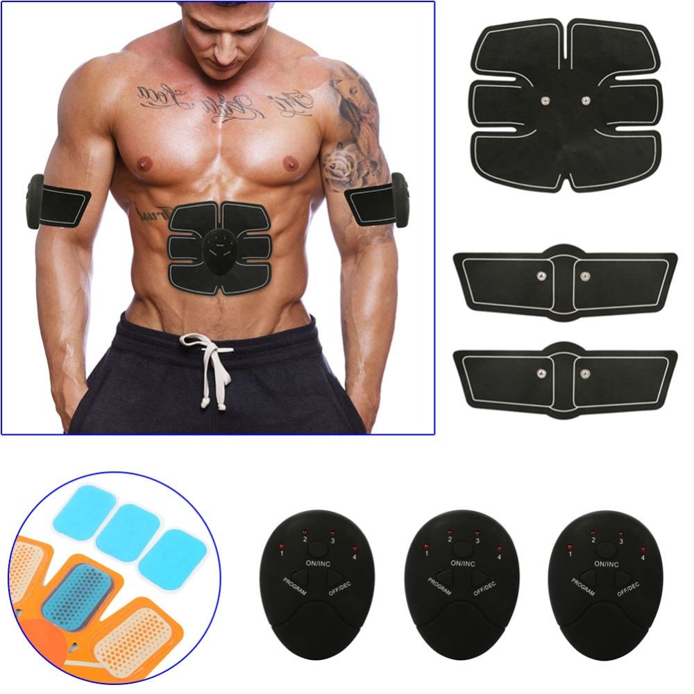 2018 New Smart Stimulator Training Abs Fitness Gear Muscle Abdominal Toning Belt Trainer Device DC88 For Health