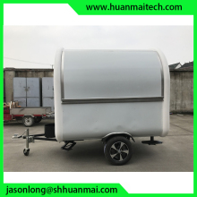 Mobile White New Zealand Food Trailer Australia Food Van Germany Foodtruck