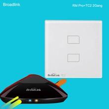 Broadlink RM2 RM PRO Common Wifi Wi-fi Management Equipment+TC2 2 gang Wi-fi Management Mild Swap House Automation Equipment 433