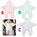 2017 New arrive Winter Warm Baby Blankets Cute Cartoon Star Envelope For Newborns Sleeping Bags Baby Kids Bedding Linens EX001