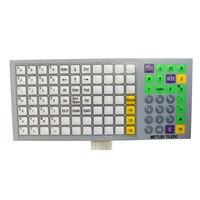 5 pçs/lote nova versão inglês teclado filme para mettler toledo rloo 3610 3650 3950 escala teclado membrana