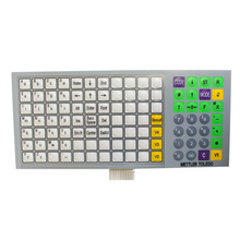 5pcs/lot New English Version Keyboard Film For Mettler Toledo RLOO 3610 3650 3950 Scale Keyboard Membrane