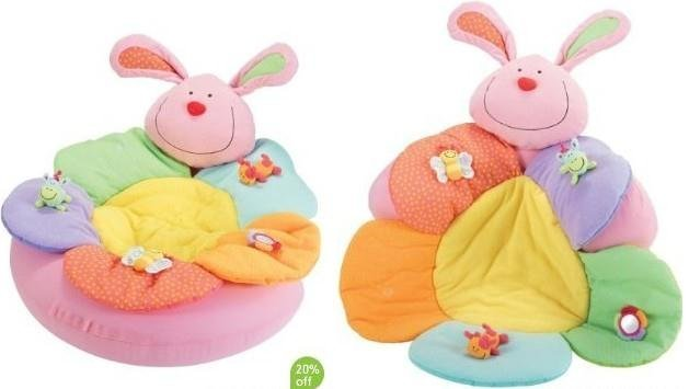baby ELC sofa Cosy Baby Seat Play Mat Nest cartoon cushion green pink retail+colorful 2015 new