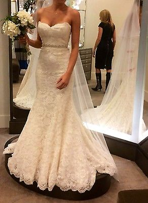 Monique Lhuillier Bliss 2017 Trumpet Wedding Gown Sz 4 Never Worn Unaltered In From Sports Entertainment On Aliexpress Alibaba Group