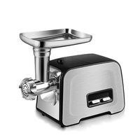 450W 220V Stainless Steel Electric Meat Grinder Multifunctional Meat Enema Mashed Garlic Chopped Vegetables Machine Mixer