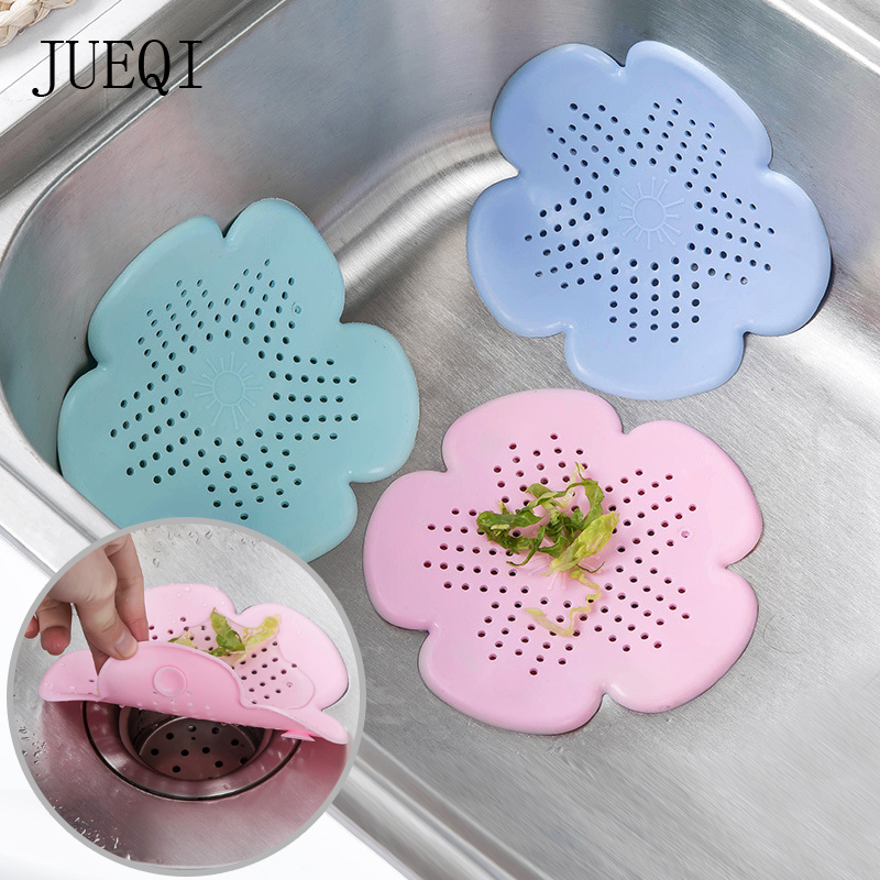 Sink Strainers FILTER-MAT Gadgets Colanders Clean-Tool Mesh Sewer-Hair Floor-Sieve Bathroom