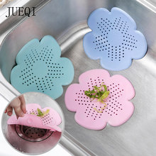 Silicone Mesh Kitchen Drains Sink Strainers Filter Sewer Hair Colanders Bathroom Clean Tool Floor Sieve Drain Filter Mat Gadgets(China)