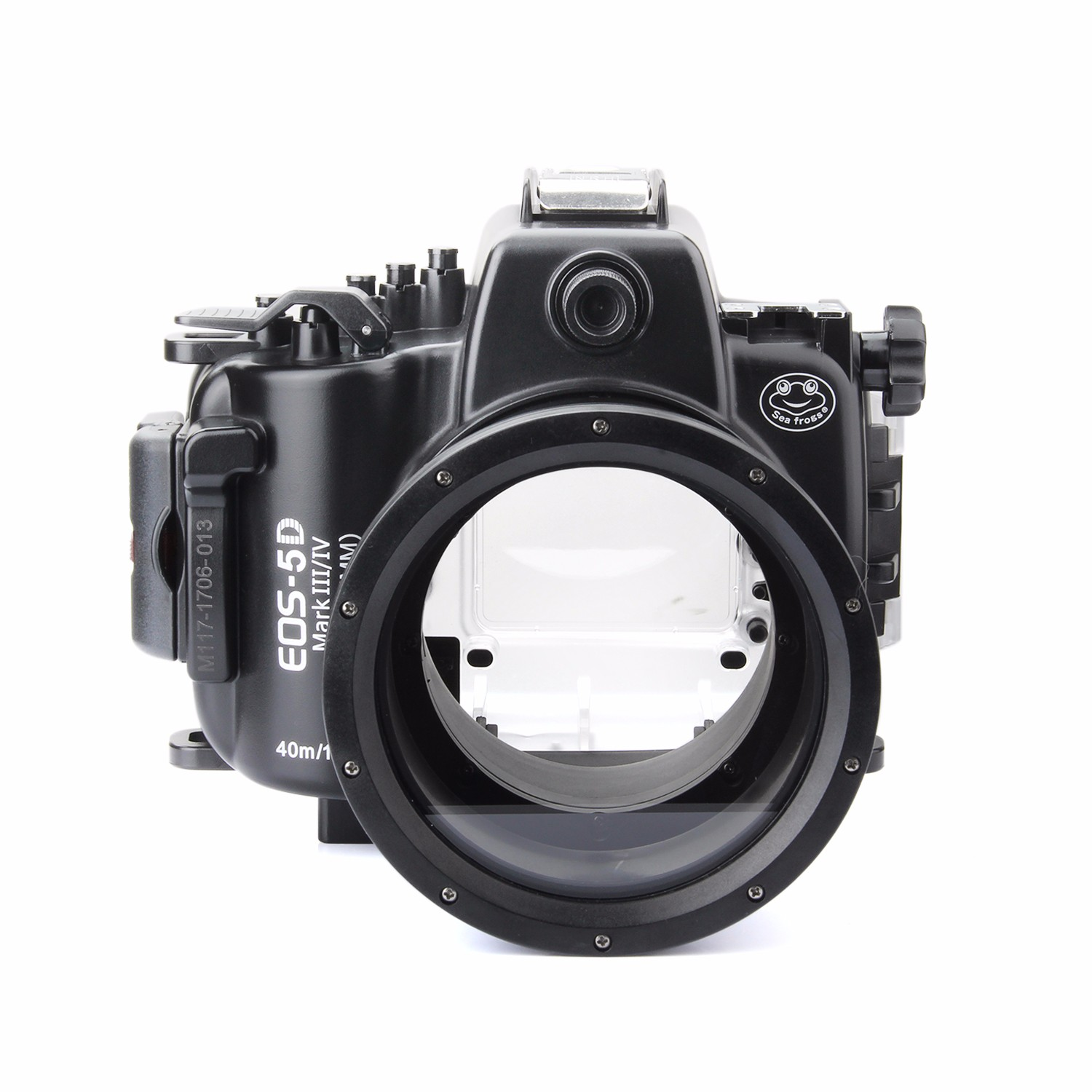 SeaFrogs 5D4 5D IV 40M 130ft Diving Waterproof Housing Case for Canon 5D III IV 5D3 5D4 Supports 24-105mm Lens + WA-1 Fisheye цена 2017