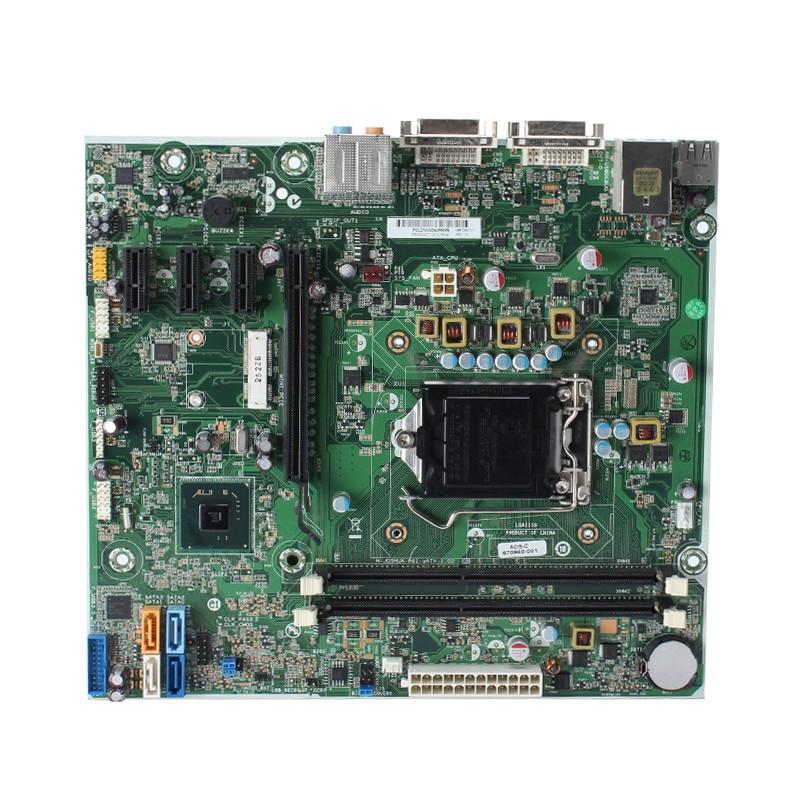Desktop motherboard mainboard For HP 696233 001 698346 501 670960 001 system board H61 LGA 1155