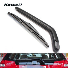 KOWELL Rear Windshield Wiper Blades Refill Brushes for Car Janitors for Toyota Yaris Vitz 99-05 Back Windscreen Window Washer
