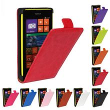 Retro Luxury Mobile Phone Bags Cases Crazy Horse Flip Cover PU Leather Case For Nokia LUMIA