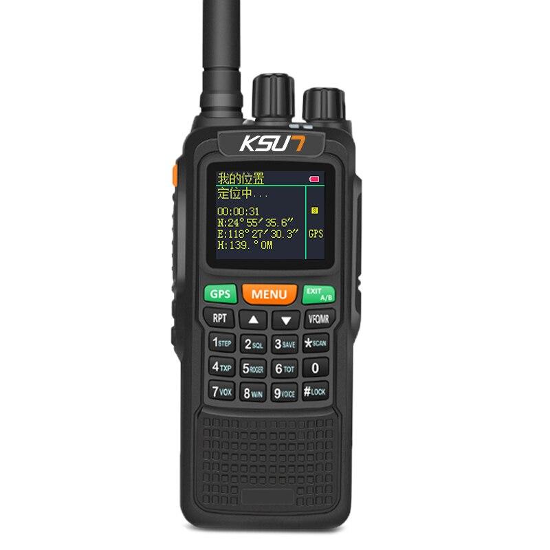 KSUN X-889TFSI Infinite Distance Global Intercom GPS Positioning 10W 6000 MAh Walkie-Talkie Civilian 50 KM Outdoor Walkie Talkie