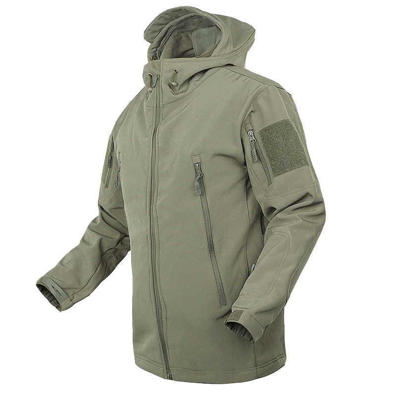TAD ルルカーシャークスキンソフトシェル V4 軍事戦術ジャケット男性防水防風コート迷彩 Militar 迷彩軍服