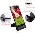 Para g4/elephone s7/xiaomi redmi 4a/3 s/3x/nota 4/pro/galaxy a3/xperia z5/premium/bluboo x usb charging dock estación de cargador de teléfono