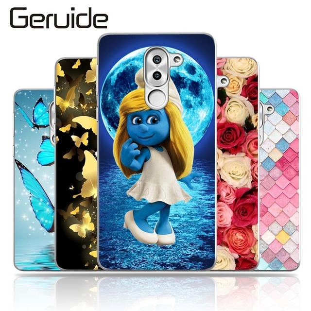 Geruide For Huawei Mate 9 Lite Case, Painting Soft Silicon TPU Phone...