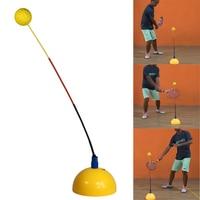 ポータブルテニストレーニングツールプロフェッショナル練習トレーナーステレオタイプスイングボールマシン初心者のための自習アクセサリー