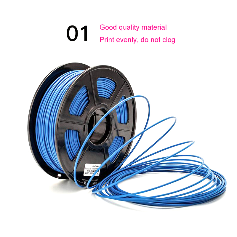3D Printer Filament HIPS Material 1.75mm for 3D printer no air bubble White Yellow Green Blue Red Black colour for you choose high precision createbot super mini 3d printer no assembly required metal frame impresora 3d 1roll filament 1gb sd card gift