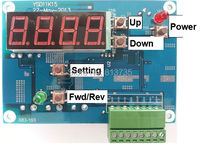 8 30V Stepping Pump Driver And Controller With Digital Display