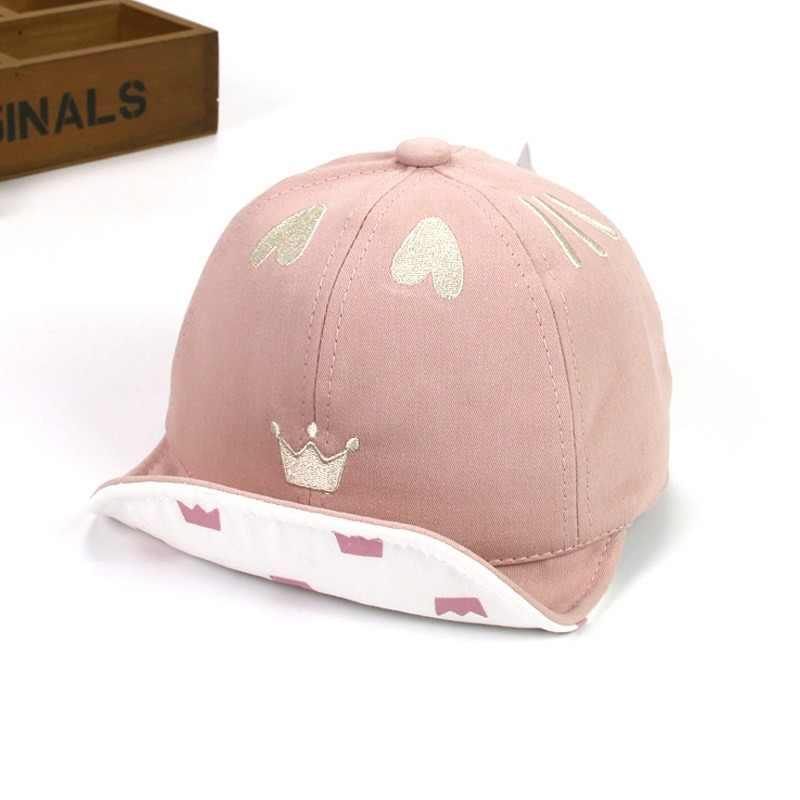 Ideacherry lindo corona del corazón del bebé sombreros de algodón accesorios  bebé recién nacido del niño 46ea80d3426