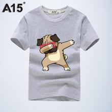 A15 Brand 2019 Summer Cute Children Clothing for Kids Girl Short Sleeve Cartoon Print 3d T Shirts Tops Boys Clothes 8 10 12 Year