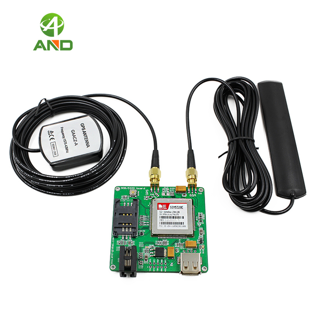 SIM5320E Evb Board Wcdma Gps 3G Kits, 3G Data M2M Module, Sms Wcdma Module,SIM5320E Op Board