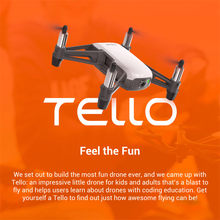 DJI Tello with 5MP HD Camera 720P WiFi FPV Mini RC Quadcopter Drone Folding Toy BNF Boost Fly More Combo 8D Flips STEM Coding(China)