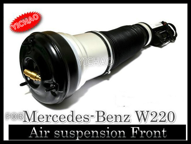 For Mercedes SClass W220 Front Air Suspension Shock Strut 2203205113 2203202438 S430 S500 S600 S55 AMG Spring Absorber Pneumatic
