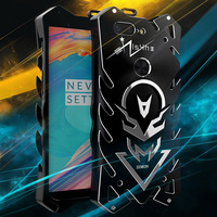 Zimon Aluminum Metal Armor Cases For OnePlus 5T Shockproof Cover For OnePlus 5T Case OnePlus 5