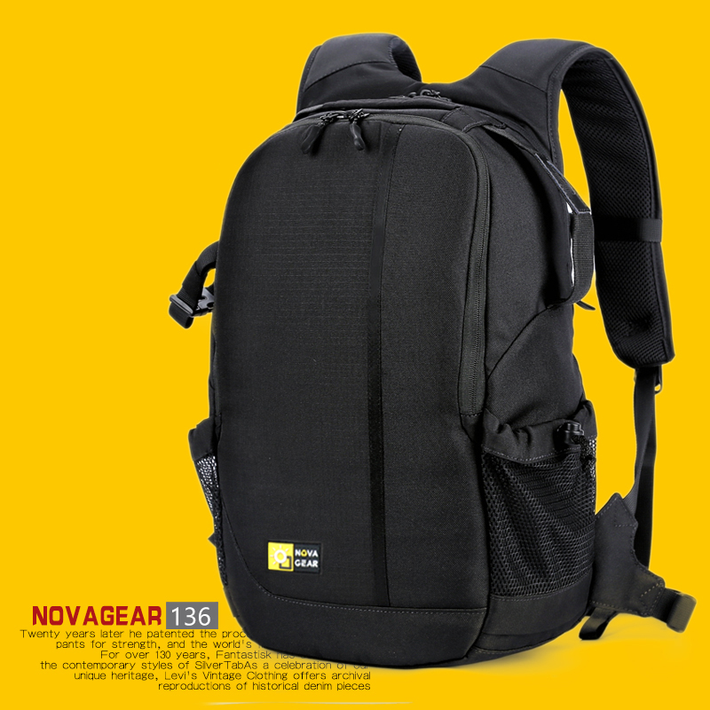 NOVAGEAR 136 DSLR Camera Bag Photo Bag Camera Backpack Universal Large Capacity Travel B ...