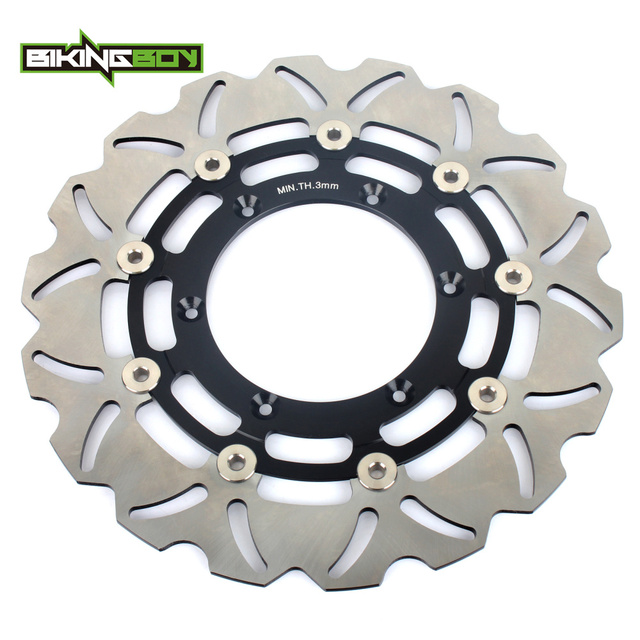 BIKINGBOY For Suzuki DRZ 400 SM 2005 2006 2007 2008 2009 2010 2011 2012 2013 2014 2015 2016 2017 Front Brake Discs Disks Rotors