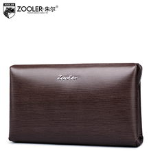 ZOOLER Genuine Leather wallet Hasp Open Genuine Leather Wallet High Large Capacity Unique superior soft leather purse#65008