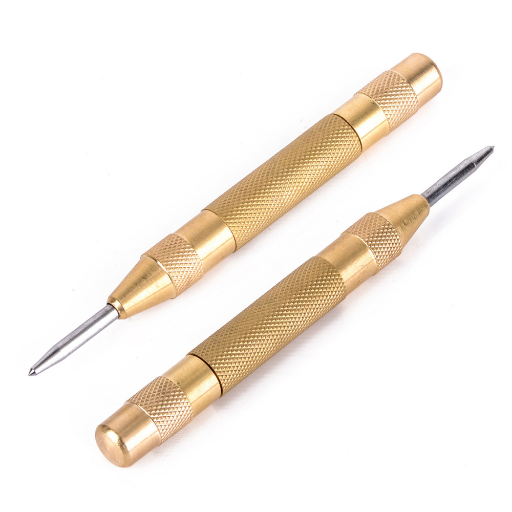 5inch Automatic Center Punch/dot Punch Strikes Spring Loaded Marking Starting Holes Tool High Speed Steel Automatic Centre Punch