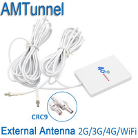 4g LET Pannel Antenna CRC9 Connector Dual Slider Connector For Huawei 3G 4G LTE Router Modem