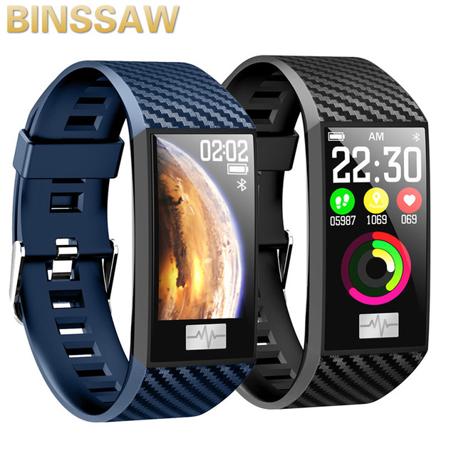 New DT58 Smart Band IP68 Waterproof Heart Rate Measurement 1.14 Inch IPS Large Screen Smart Watch for Android IOS Smart Bracelet