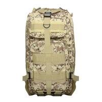 Nuevo Ejército Al Aire Libre Mochila Mochilas de Excursión Que Acampa Trekking Bag 30L Digital Desierto