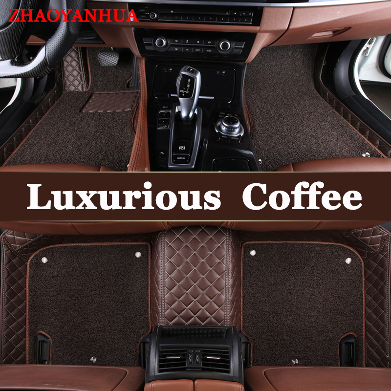 ZHAOYANHUA Specilly Customized <font><b>car</b></font> floor <font><b>mats</b></font> for <font><b>Lexus</b></font> J100 LX470 LX 470 J200 LX570 RX200T RX270 <font><b>RX350</b></font> NX200 GS250 carpet image