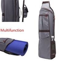 Practical Fitness Bag Waterproof Large Space Sports Yoga Mat Bags Shoulder Bag Pilates Yoga Bag Knapsack Gym Backpack 70*16*12cm