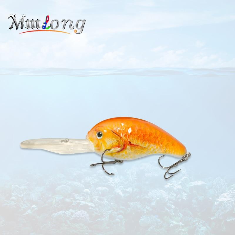 Mmlong 13cm Big Artificial Fishing Lure MH01 32.4g Bionic Crank Bait 5 Color Unique Crankbait Deep Water Fishing Wobbler Lures wldslure 1pc 54g minnow sea fishing crankbait bass hard bait tuna lures wobbler trolling lure treble hook
