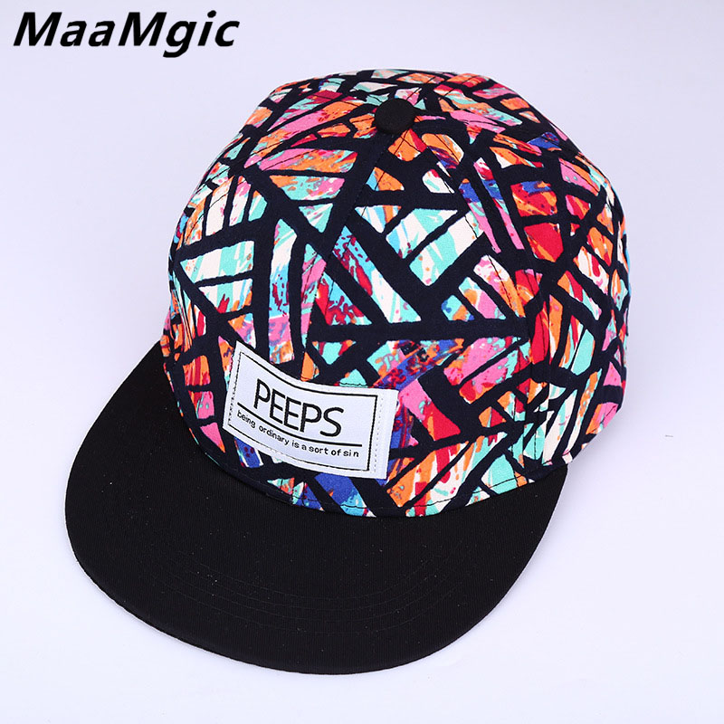 Men's Hats Bright Baseball Caps Men Flat Hat Snapback Cap Women Hip Hop Letter S72 Various Styles Men's Baseball Caps