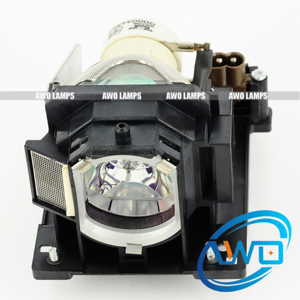 AWO Orginal UHP Bulb with Housing CP-D20 For HITACHI Projector Lamp DT01121 with Module free shipping dt00757 compatible replacement projector lamp uhp projector light with housing for hitachi projetor luz lambasi
